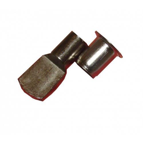 Taquet d'étagère acier à douille