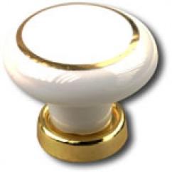 Bouton de meuble porcelaine